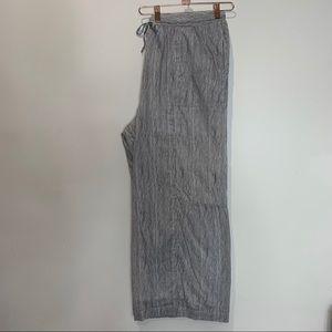 Soft Cotton Wide Leg Pants